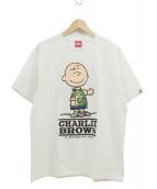 A BATHING APE×PEANUTS(ア ベイジング エイプ×ピーナッツ)の古着「プリントTシャツ」