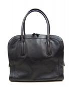 SAZABY(サザビー)の古着「レザートートバッグ」|ブラック