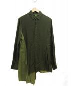 Yohji Yamamoto(ヨウジヤマモト)の古着「切替シャツ」