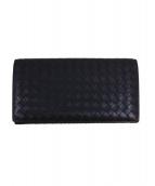 BOTTEGA VENETA(ボッテガ・ヴェネタ)の古着「イントレチャート2つ折り財布」