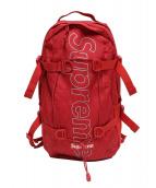Supreme(シュプリーム)の古着「ボックスロゴバックパック」|レッド