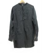 ms braque(エムズ ブラック)の古着「ロングシャツ」