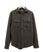RRL(ダブルアールエル)の古着「ウールCPOシャツ」