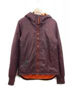 G-STAR RAW(ジースターロゥ)の古着「フーデッド内キルティングジャケット」 ブラウン