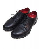 REGAL Shoe&Co.(リーガル シューアンドカンパニー)の古着「メダリオンシューズ」|ブラック