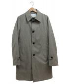 BEAUTY&YOUTH(ビューティアンドユース)の古着「ボンディングステンカラーコート」|ベージュ