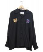 EDIFICE×Paris Saint-Germain(エディフィス×パリサンジェルマン)の古着「刺繍シャツ」