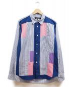 COMME des GARCONS HOMME DEUX(コムデギャルソン オム ドゥ)の古着「切替シャツ」