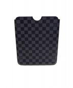 LOUIS VUITTON(ルイ・ヴィトン)の古着「iPad2 ハードケース」 ブラック