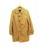 COMME des GARCONS HOMME(コムデギャルソンオム)の古着「ステンカラーコート」 ベージュ