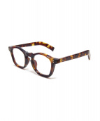 guepard(ギュパール)の古着「眼鏡」|ブラウン
