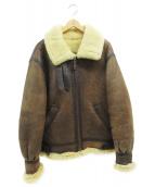 AVIREX(アヴィレックス)の古着「B-3ジャケット」 ブラウン