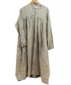 Lisette(リゼッタ)の古着「リネンワンピース」 ベージュ