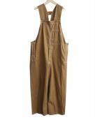 UNUSED(アンユーズド)の古着「DUCKオーバーオール」|ブラウン