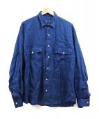 PORTER CLASSIC(ポータークラシック)の古着「リネンシャツ」