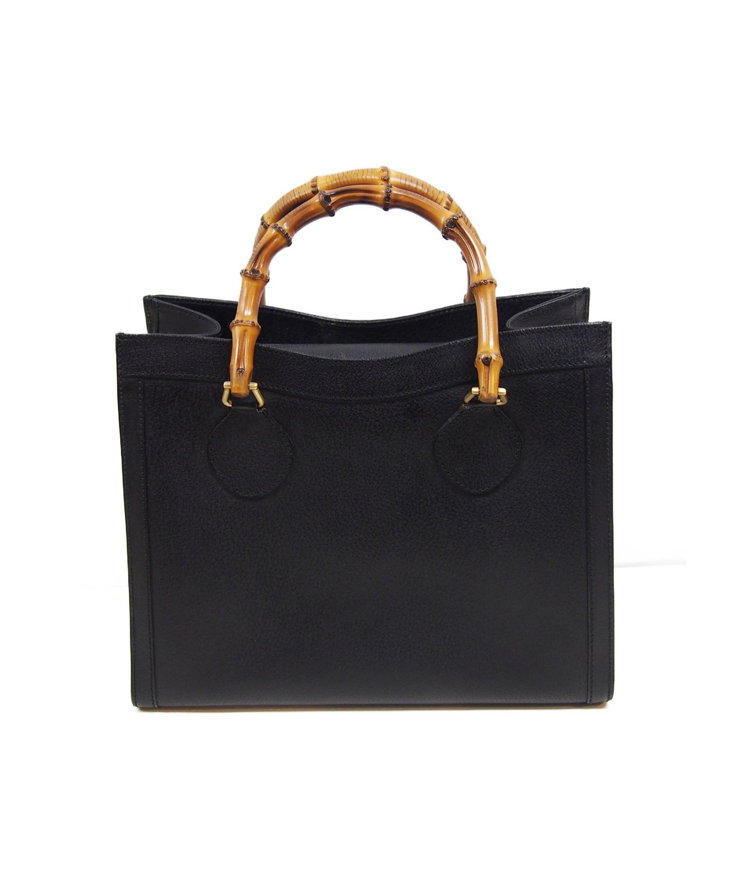 info for 00227 d0275 中古・古着通販】GUCCI (グッチ) バンブーハンドバッグ OLD ...