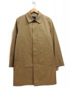 Brooks Brothers(ブルックスブラザーズ)の古着「ステンカラーコート」 ベージュ