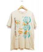 carhartt×BRAINDEAD(カーハート×ブレインデット)の古着「ポケットTシャツ」|ベージュ