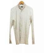 ISSEY MIYAKE MEN(イッセイ ミヤケ メン)の古着「プリーツシャツ」|ホワイト