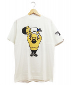 BAPE BY A BATHING APE(ベイプ バイ アベイシングエイプ)の古着「Tシャツ」|ホワイト