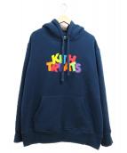 KITH(キース)の古着「プルオーバーパーカー」|ネイビー