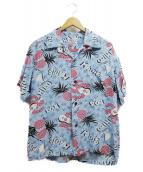 Sun Surf(サンサーフ)の古着「アロハシャツ」 ブルー
