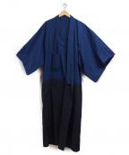 TROVE(トローブ)の古着「WAROBE / BI-COLOR YUKATA」|ネイビー