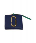 MARC JACOBS(マークジェイコブス)の古着「2つ折り財布」|ブルー
