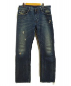 DIESEL(ディーゼル)の古着「デニムパンツ」|ブルー