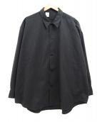 N.HOOLYWOOD(エヌハリウッド)の古着「ビッグシルエットシャツ」|グレー