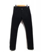 Hysteric Glamour(ヒステリックグラマー)の古着「デニムパンツ」|ブラック