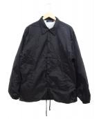 UNDERCOVER(アンダーカバー)の古着「コーチジャケット」 ブラック