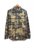 SURT(サート)の古着「ネルシャツ」|グレー