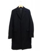 A.P.C.(アーペーセー)の古着「チェスターコート」|ブラック