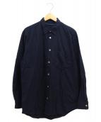 ISSEY MIYAKE(イッセイ ミヤケ)の古着「ベーシックシャツ」|ブラック