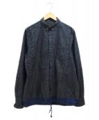 sacai(サカイ)の古着「ドローコードシャツ」|グレー