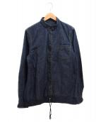 sacai(サカイ)の古着「ドローコードデニムシャツ」|インディゴ