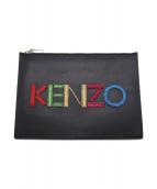 KENZO(ケンゾー)の古着「クラッチバッグ」 ブラック