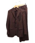 TRABALDO TOGNA(トラバルド・トーニャ)の古着「3Bスーツ」|ブラウン