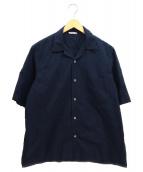 AURALEE(オーラリー)の古着「コンフォートシャツ」|ネイビー