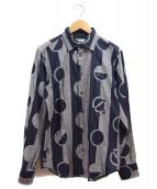 vivienne westwood MAN(ヴィヴィアン ウエストウッド マン)の古着「クラウドニードットクラシックシャツ」|グレー