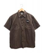 TENDERLOIN(テンダーロイン)の古着「ワークシャツ」|ブラウン
