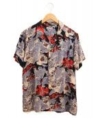Sun Surf kalakaua(サンサーフ カラカウア)の古着「アロハシャツ」|ブラック