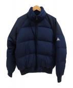 .efiLevol × le coq sportif(エフィレボル ルコックスポルティフ)の古着「ダウンジャケット」|ネイビー