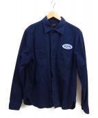 TENDERLOIN(テンダーロイン)の古着「ワークシャツ」|ネイビー