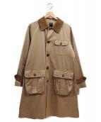 MOJITO(モヒート)の古着「ステンカラーコート」|ベージュ