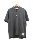 THOM BROWNE(トム ブラウン)の古着「ポロシャツ」|グレー