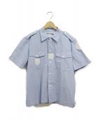 JUNYA WATANABE CDG(ジュンヤワタナベコムデギャルソン)の古着「半袖シャツ」|ブルー