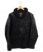 ORGUEIL(オルゲイユ)の古着「Car Coat」|ブラック