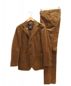URBAN RESEARCH DOORS(アーバンリサーチドアーズ)の古着「セットアップスーツ」|ブラウン